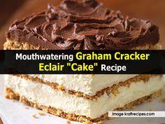 Mouthwatering Graham Cracker Eclair