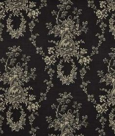 Waverly Country House Toile Black...Material I bought for dining room chairs