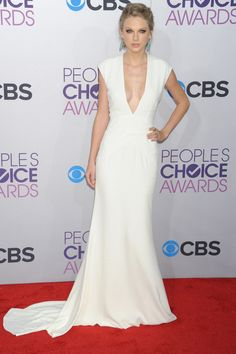 Taylor Swift de Ralph Lauren Collection en los People´s Choice Awards