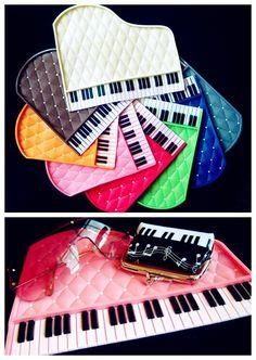 Piano keyboard car mats. #music #piano #carmats http://www.pinterest.com/TheHitman14/music-paraphernalia/