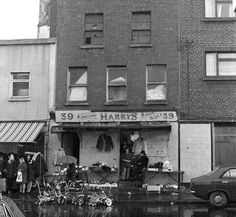 Harry's of Meath Street, Dublin, Ireland. Around the corner from Grandads house so I think grandad was here! Ireland Pictures, Old Pictures, Old Photos, Dublin Street, Photo Engraving, Dublin Ireland, Historical Photos, Street View, History
