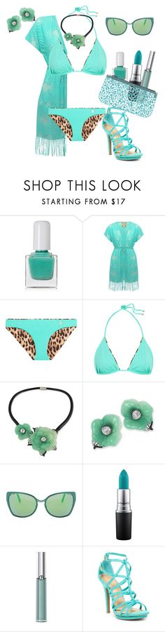"""Jade"" by greensparkle1 ❤ liked on Polyvore featuring tenoverten, M&Co, Roberto Cavalli, Kenneth Jay Lane, Cutler and Gross, MAC Cosmetics, Armani Beauty, Wild Diva and Leplàs"