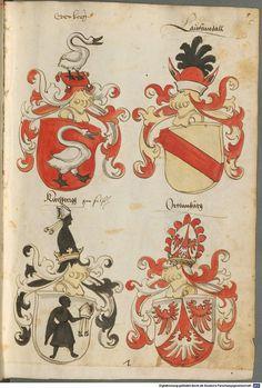 Tirol, Anton: Wappenbuch Süddeutschland, Ende 15. Jh. - 1540 Cod.icon. 310  Folio 5r