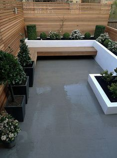 - Small garden design ideas are not simple to find. The small garden design is unique from other garden designs. Space plays an essential role in small . garden Minimalist Garden Design Ideas For Small Garden - TRENDUHOME Modern Landscape Design, Small Patio Ideas On A Budget, Small Garden Design, Patio Design, Garden Seating, Terrace Design, Garden Design, Modern Landscaping, Minimalist Garden