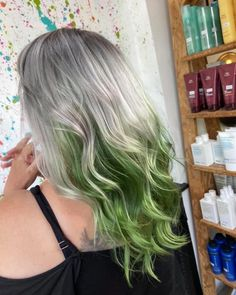 Welcome to Emerald City - hair by Sarah at the Nottingham salon #loughborough #sherwood #nottingham www.blisshair.com/ #haircolour #besthairdressers #haircut #summerhair #afterlockdownhair #makeover #besthaircolourists