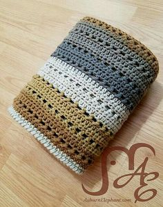 Tiramisu Blanket Free Crochet Pattern The perfect blanket for your home. Look how to create it. It is a blanket in beautiful colors. Crochet For Beginners Blanket, Baby Blanket Crochet, Crochet Baby, Free Crochet, Crochet Blankets, Easy Crochet, Afghan Crochet Patterns, Knitting Patterns, Crochet Afghans