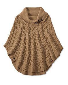 Orvis Women's Cable-knit Cowlneck Poncho, Camel, L/Xl Orvis http://www.amazon.com/dp/B00OZYZ8ZE/ref=cm_sw_r_pi_dp_mDF9vb1VBWTXS