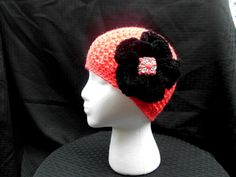 Crocheted Hat Cloche by CottageStreetStation on Etsy