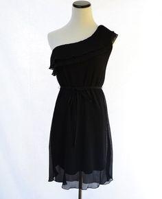 As U Wish Black Cocktail Dress // Vintage Black by CoolMintMoon