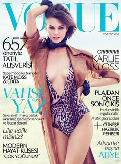 Karlie Kloss covers #Vogue Turkey June 2013