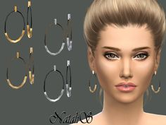 Sims 4 CC's - The Best: Earrings by NataliS