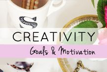 How to be more creative, thoughts on motivation and goal setting, how to stay disciplined and be productive