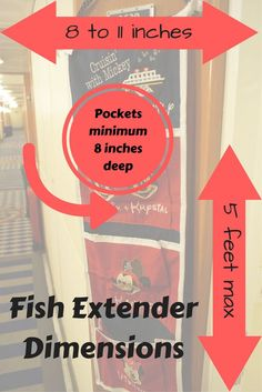 Fish Extender Dimensions - What size should I make my fish extender? How wide can a fish extender be?