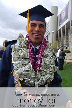 How to make your own Graduation Money Lei!