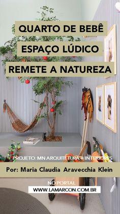 Escritório propõe espaço lúdico que remete a natureza com potencial para criar uma atmosfera aconchegante e saudável tanto para os pequenos quanto para os pais