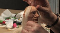 Wigging Excerpt from Creating a Character Figure with Wendy Froud DVD - Tutorial
