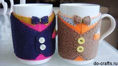 Unique handmade cup cozy – Handmade Coffee Cozy .