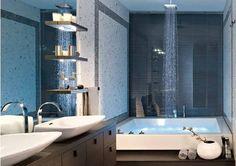 """KOS 72"""" x 60"""" tub/shower"""