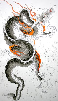Fondos japoneses · kết quả hình ảnh cho state of grace dragon tatuajes de dragón tribal, tatuajes de Japanese Dragon Tattoos, Japanese Tattoo Art, Japanese Tattoo Designs, Japanese Sleeve Tattoos, Japanese Drawings, Japanese Artwork, Japanese Painting, Japanese Prints, Backpiece Tattoo