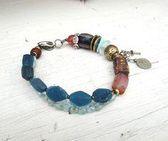 Un bracelet intemporel, tribal, boho chic : Murmures Sacrés De La Brise !!!!!! : Bracelet par les-reves-de-minsy