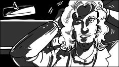 Storyboard Shot 5-1: Roy quietly and calmly puts on the wig. #film #filmphotography #sequence #movies #moviescene #moviescenes #makingmovie #makingfilm #moviemaking #storyboard #artist #storyboarding #storyboards #drawing #drawings #films #filmdirector #director #filmcrew #filmmaking #filmmaker #preproduction #conceptart #filmproduction #illustrator #illustration