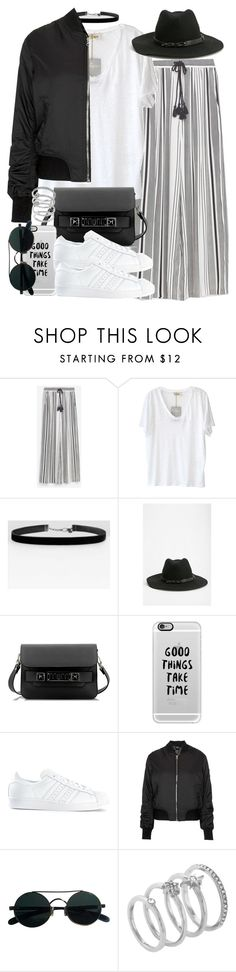 """""""Sin título #3672"""" by hellomissapple on Polyvore featuring moda, Zara, American Vintage, Urban Outfitters, Proenza Schouler, Casetify, adidas, Topshop y Vince Camuto"""