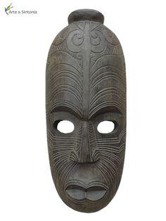 Mascara Africana p/ decorar paredes