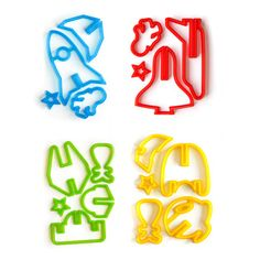 Space Cookie Cutters Set of 2, $17.50, now featured on Fab. [SUCK UK]