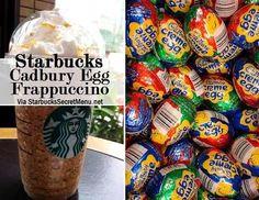 Cadbury egg frapp!