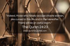 #160 The Quran 24:23 (Surah an-Nur)