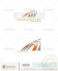 Communications Logo  1408 — Vector EPS #circle #circles • Available here → https://graphicriver.net/item/communications-logo-1408/497324?ref=pxcr