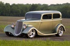 This was part of the inspiration for my '33 Ford Sedan