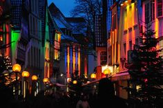 Weihnachtsbeleuchtung Altstadt Osnabrück 2009 - Bild & Foto von BernhardE aus Straßenfeste - Fotografie (19627330) | fotocommunity