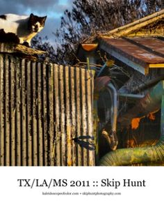 These images were made while traveling via motorcycle from Texas, deep into Louisiana and Mississippi. TX/LA/MS 2011 Photo Book $25