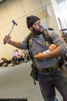 Tyreese and Judy Grimes | PAX East 2015 #DTJAAAAM