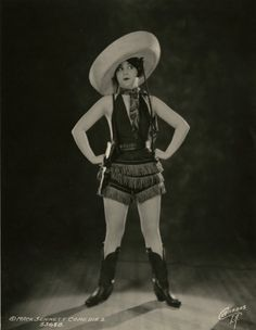 Mack Sennett Beauty, Thelma Hill, by George Cannons