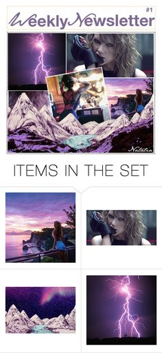 """""""Weekly Newsletter // Natalia"""" by teenage-iconer ❤ liked on Polyvore featuring art"""