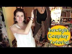 Hawkgirl Cosplay Tutorial - Wing Harness (corset) - YouTube