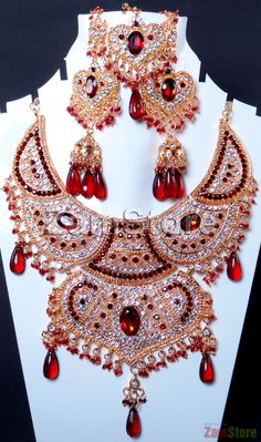 Imitation Diamonds Cubic Zirconia, Perfect for Bride! Maroon. $49.00