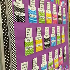 "Sight Word ""My Word Work"" Board - Students each have their own differentiated word work list that THEY choose to practice."