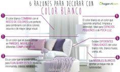 6 razones para decorar con el color blanco