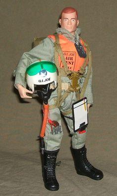 "Timeless Series Scramble Pilot Parachute Pack 12/"" GI JOE 1//6 Scale"