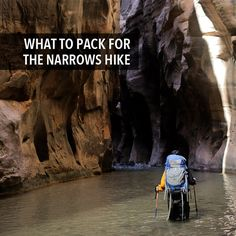 Today we're sharing our backpacking gear list for the Zion Narrows hike top down plus some additional tips to get you prepared.