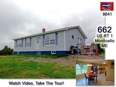 662 US Rt 1 Monticello Maine Ranch Home For Sale  | MOOERS #8641