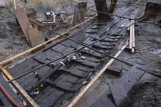 Viking ship discovered in the Mississippi River; which means the Vikings traveled further inland in America than previously thought, and the stories of Vinland might be more than mythology!