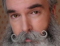Handlebar Mustache Handlebar Mustache, Beard No Mustache, Mustache Styles, Beard Quotes, Handsome Bearded Men, Grey Beards, Epic Beard, Gents Fashion, Awesome Beards