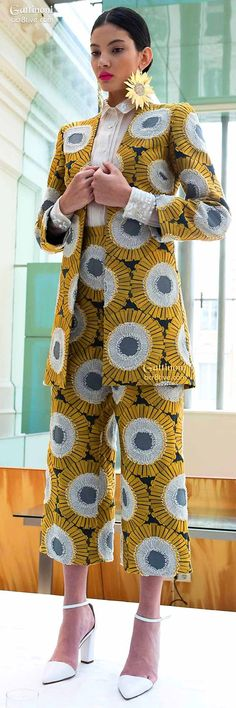 ♡African Inspired by Gattinoni Haute Couture Spring 2015