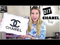 DIY Chanel Tray - YouTube