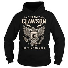 awesome Team CLAWSON Lifetime Member - Last Name, Surname T-Shirt