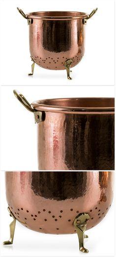 Copper Colander - Big by Segno Italiano